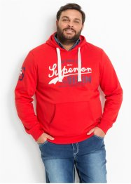 Kapuzen-Sweatshirt Regular Fit, John Baner JEANSWEAR