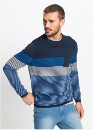 Ringel-Pullover Regular Fit, RAINBOW