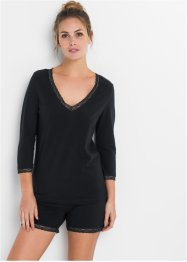 Schlafshirt mit 3/4-Ärmel, bpc bonprix collection