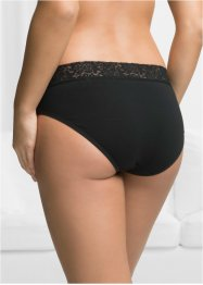 Slip mit Spitze (5er Pack), bpc bonprix collection