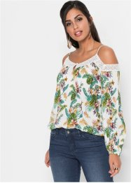 Off-Shoulder Bluse, bedruckt, BODYFLIRT