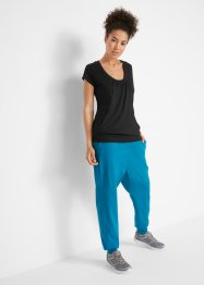 Sport-Stretch-Longshirt, kurzarm, bpc bonprix collection