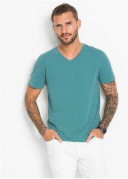 T-Shirt mit Stretch Slim Fit, bpc selection
