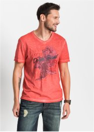 T-Shirt in gewaschener Optik, John Baner JEANSWEAR