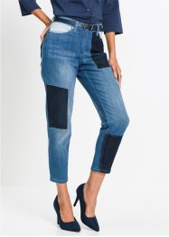 7/8-Patchwork-Stretchjeans, bpc selection