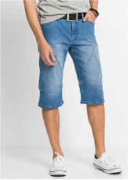 Stretch-Jeans-Long-Bermuda, Regular Fit, John Baner JEANSWEAR
