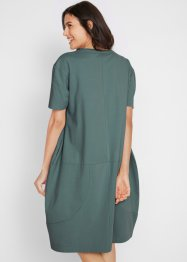 Oversized-Baumwoll-Kleid, 1/2-Arm, bpc bonprix collection