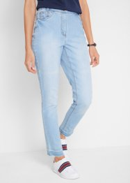 Jeans mit Fransensaum in 7/8-Länge, bpc bonprix collection