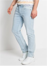 Stretch-Jeans sommerlich leicht Slim Fit Straight, RAINBOW