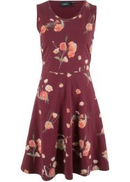 Jerseykleid ohne Arm mit Blumendruck, bpc bonprix collection