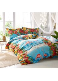 Bettwäsche mit Flamingo, bpc living bonprix collection