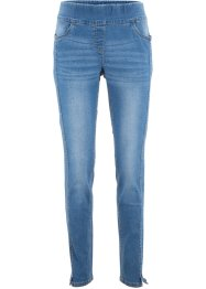 High Waist Stretch-Jeans mit vorverlegten Ziernähten, bpc bonprix collection
