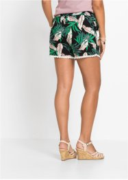 Shorts mit Blumenprint, RAINBOW