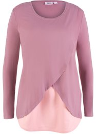 Rundhals-Shirt im Lagenlook, bpc bonprix collection