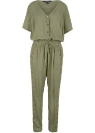 Bedruckter Jumpsuit in Krepp-Qualität, bpc bonprix collection