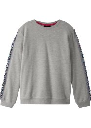 Sweatshirt mit Paillettenbesatz, bpc bonprix collection