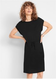 Jersey-Kleid mit Bindeband, bpc bonprix collection