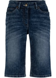Stretch-Jeans-Shorts mit Bequembund im Used-Look, bpc bonprix collection
