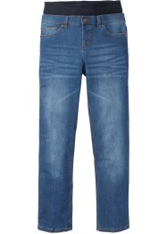 Stretch-Schlupfjeans mit Jersey-Komfortbund, bpc bonprix collection