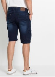 Regular Fit Stretch-Jeans-Bermuda, John Baner JEANSWEAR