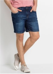 Slim Fit Power-Stretch-Jeans-Longshorts, John Baner JEANSWEAR