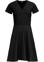 Kleid im Material-Mix, BODYFLIRT
