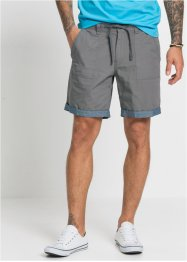 Long-Shorts aus Strukturware, Regular Fit, RAINBOW