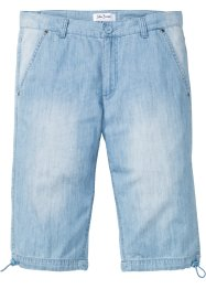 Jeans-Longbermuda in Sommerdenim Regular Fit, John Baner JEANSWEAR