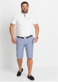 Leinen-Mix Chino-Bermuda, bpc selection