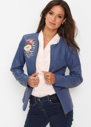 Lederimitat-Jacke mit Applikation, bpc selection