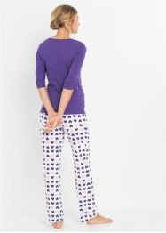 Still-Pyjama mit Bio-Baumwolle, bpc bonprix collection - Nice Size