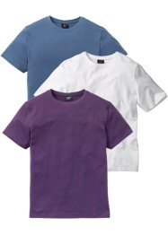 T-Shirt 3er Pack, bpc bonprix collection
