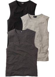 Muskelshirt 3er Pack, bpc bonprix collection