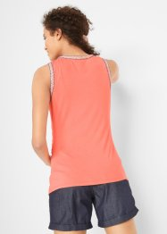 Sommerliches Shirt mit Flechtdetails, bpc bonprix collection