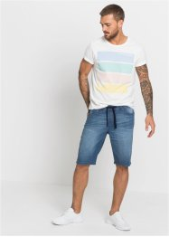 Slim Fit Schlupf-Bermuda, RAINBOW