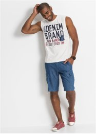 Jeans-Bermuda in Sommerdenim Regular Fit, John Baner JEANSWEAR