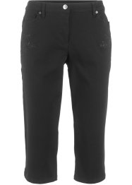Capri-Stretch-Hose mit Bequembund, bpc bonprix collection