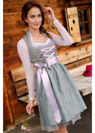 Dirndl Spitzenshirt, langarm, bpc bonprix collection