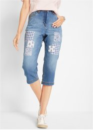 Boyfriend Capri Jeans mit Applikationen, bpc bonprix collection