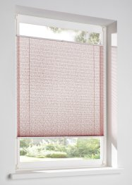 Ausbrenner Plissee mit Rosen Musterung, bpc living bonprix collection