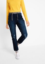 Komfort Boyfriend-Jeans mit Bequembund, bpc bonprix collection