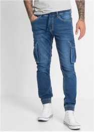 Schlupf-Cargo-Jeans Slim Fit Straight, RAINBOW