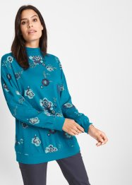 Turtleneck-Langarmshirt bedruckt, bpc bonprix collection