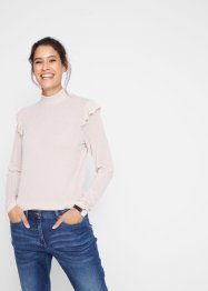 Turtleneck-Rippshirt, bpc bonprix collection