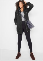 Longjacke mit Kapuze, wattiert, bpc bonprix collection