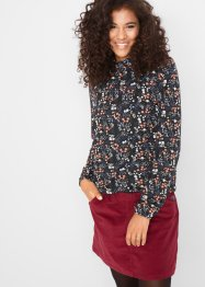 Langarmshirt mit Blumen Druck, bpc bonprix collection