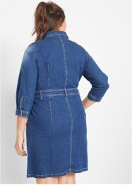 Stretch-Jeanskleid, 3/4-Arm, John Baner JEANSWEAR