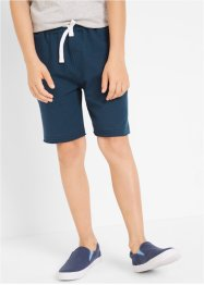 Jungen Sweatbermuda (2er-Pack), bpc bonprix collection