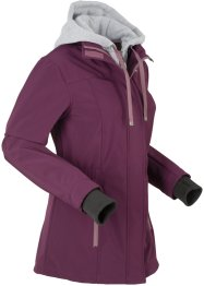 Softshell-Longjacke, 2 in 1-Optik, bpc bonprix collection