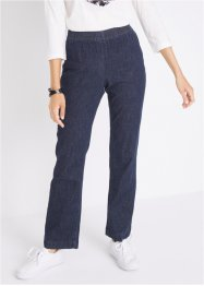 Stretch-Jeans mit Rundumbund, Bootcut, bpc bonprix collection